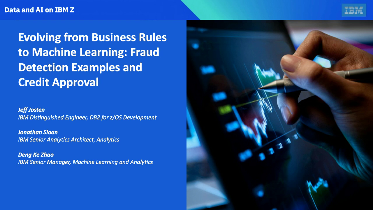 Evolving from Business Rules to Machine Learning: Credit Approval and Fraud Detection Examples